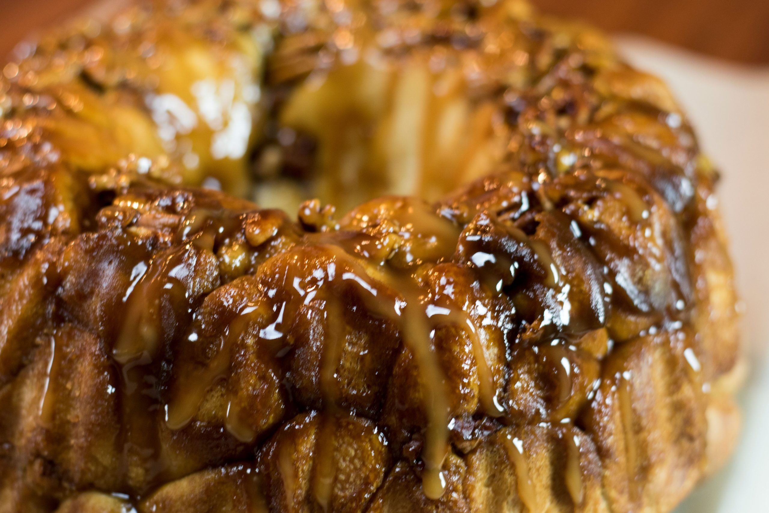 Honey Butter Carmel Pull-apart Monkey Bread Recipe