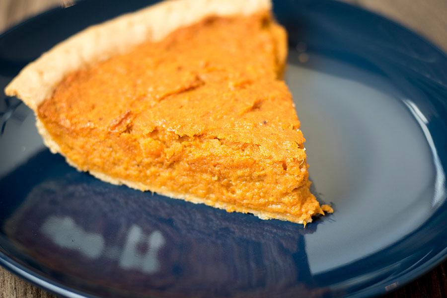 Cinnamon Honey Sweet Potato Pie