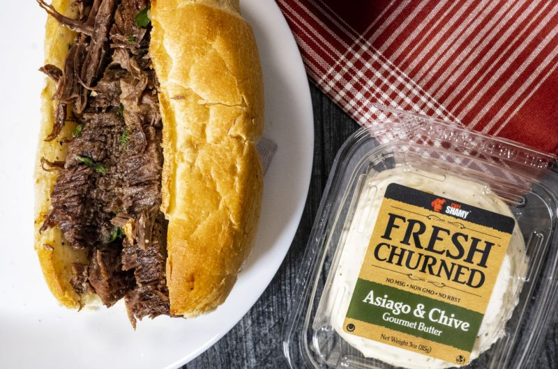 Instant Pot French Onion French Dip Sandwiches