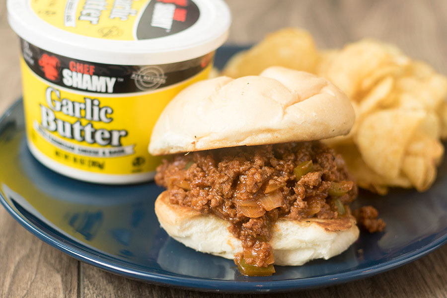 Chef Shamy's home-made Sloppy joe recipe is a great way to try our compound butter in a recipe.