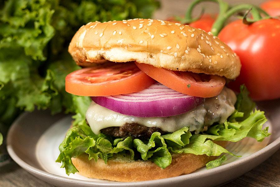 The Best Homemade Garlic Burger