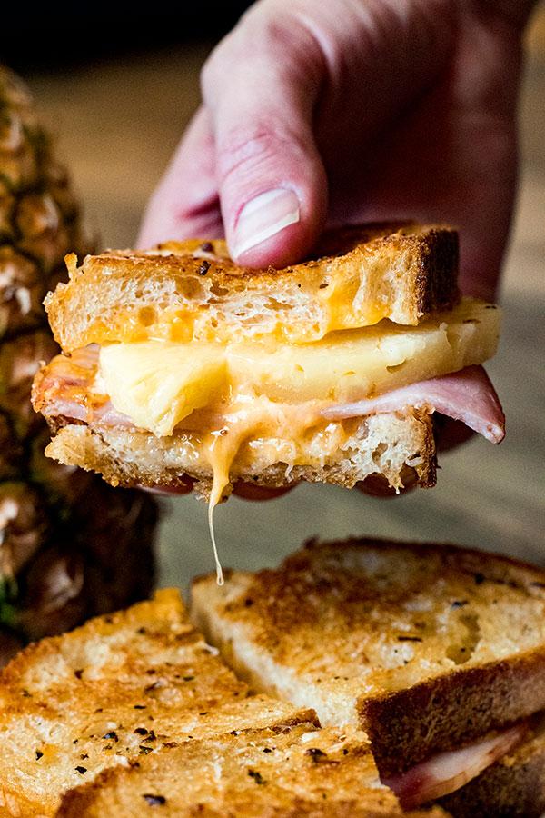 Hawaiian Grilled Cheese