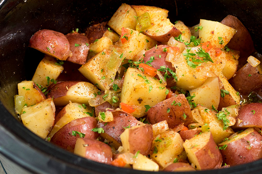 Crock Pot Breakfast Potatoes