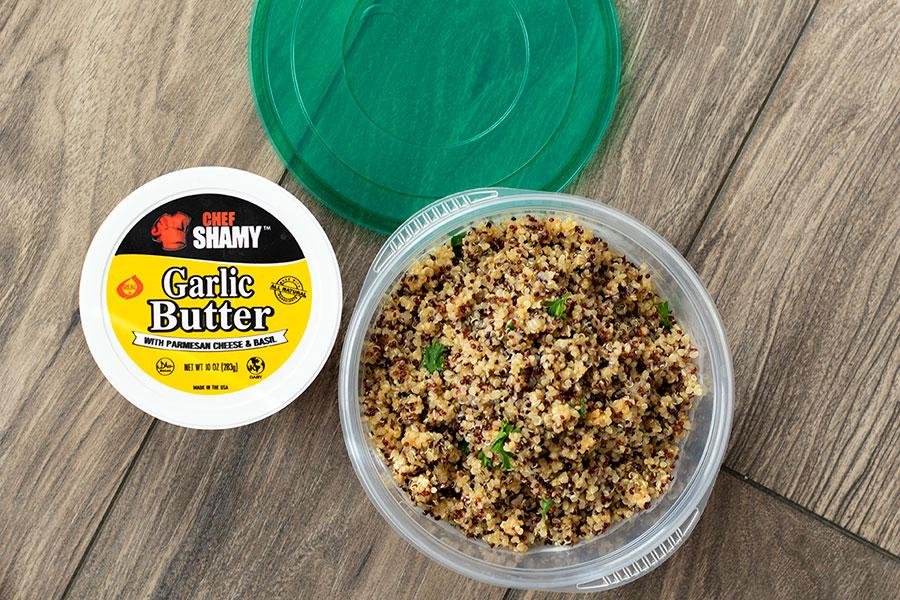 Garlic Butter Quinoa