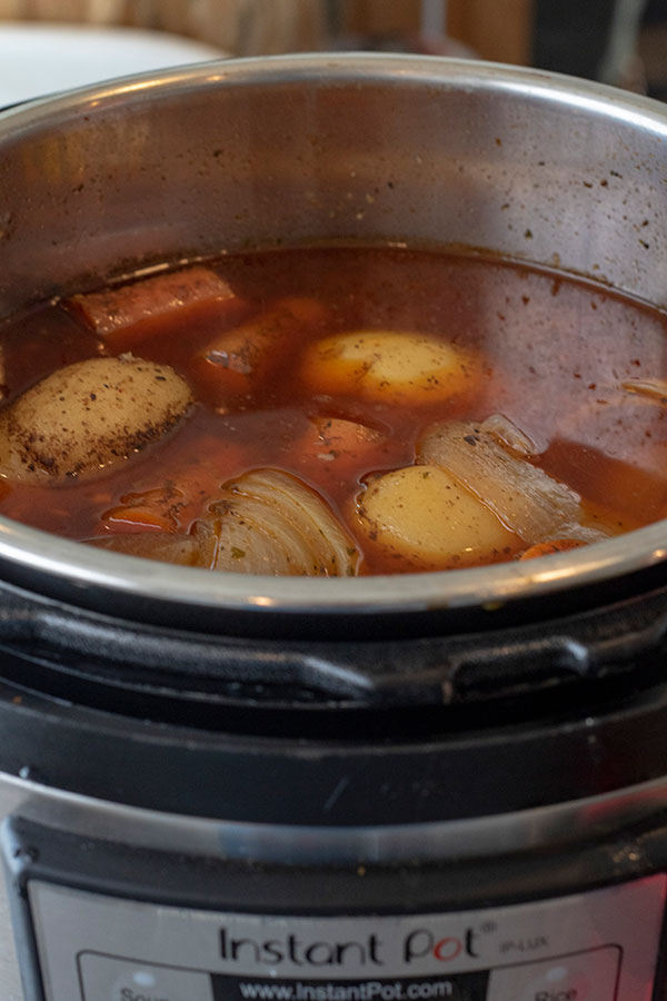 Instant Pot Pot Roast and Potatoes