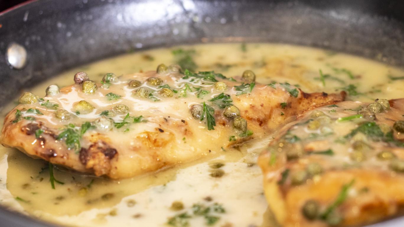 Easy Garlic Butter Chicken Picatta