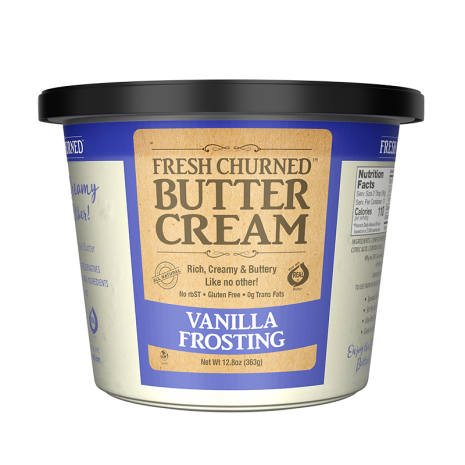 vanilla frosting front