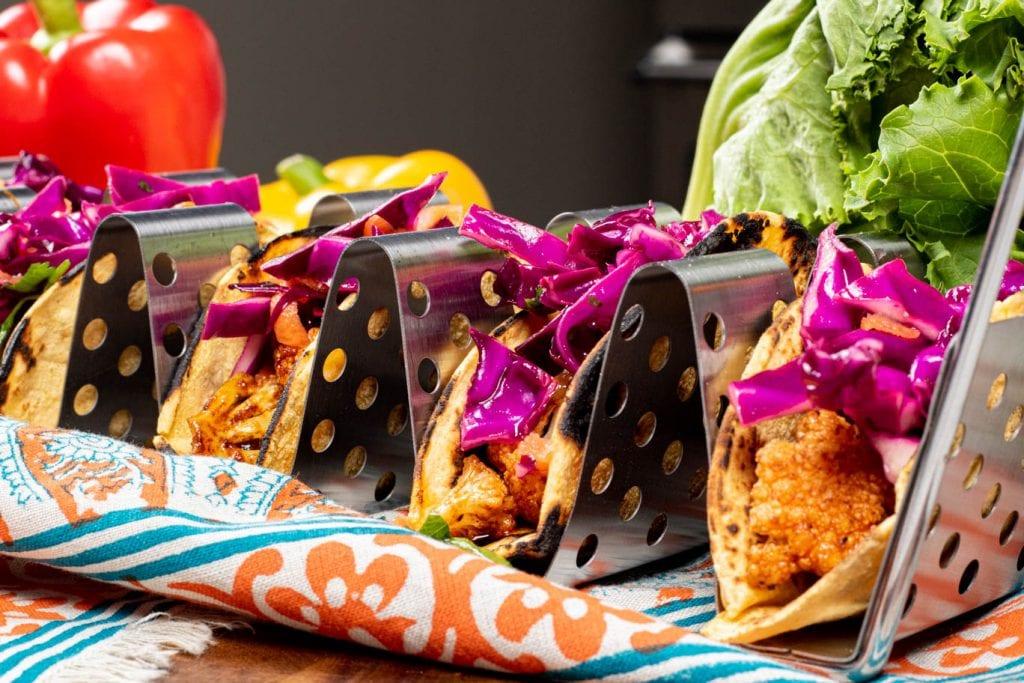 Spicy Cauliflower Tacos