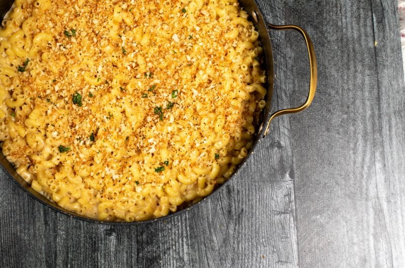 Irish Cheddar Mac and Cheese